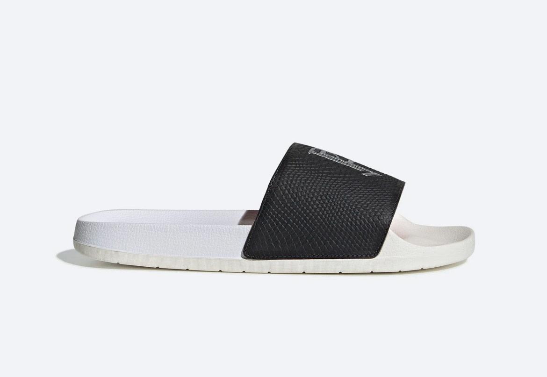 adidas Originals Adilette TND Paul Pogba — pánské — plavecké — černé, bílé — slides