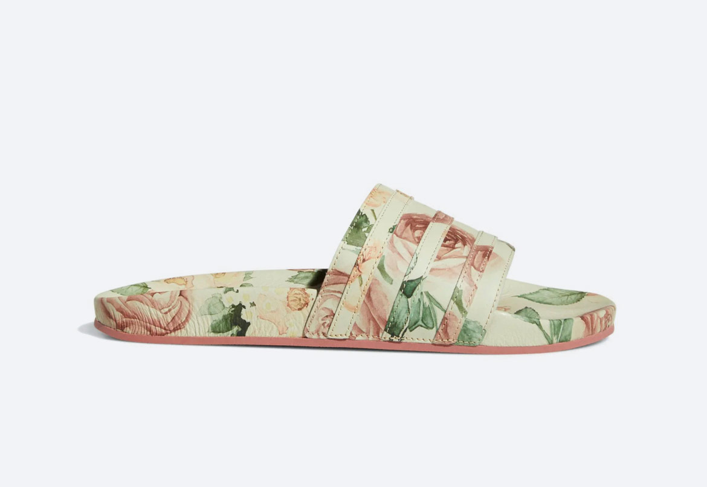 adidas Originals Adilette Eric Emanuel — pánské — s květinovým motivem — slides