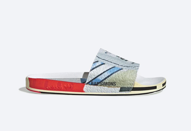 adidas Originals Raf Simons Micro — pantofle — pánské — barevné s potiskem