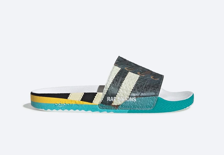 adidas Originals Raf Simons Samba — pantofle — pánské — barevné s potiskem